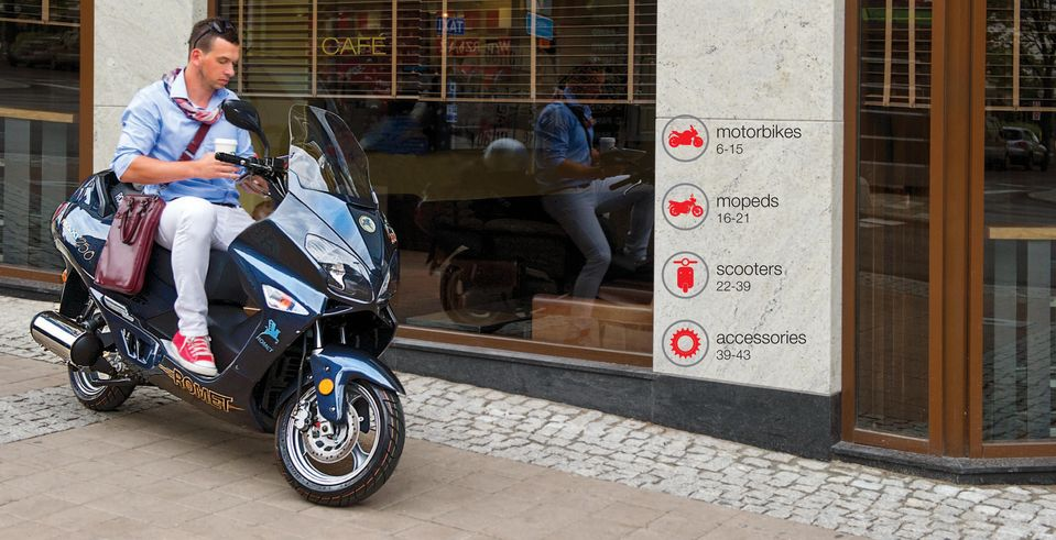 CAFÉ. motorbikes mopeds scooters accessories PDF on