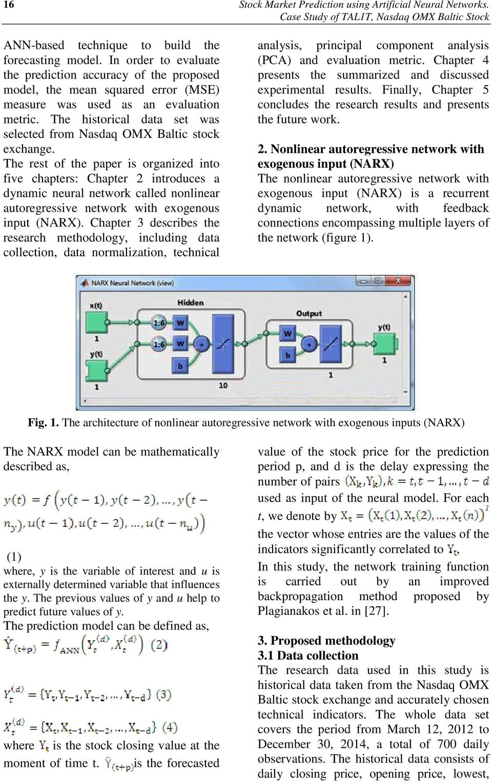 Stock Market Prediction using Artificial Neural Networks  Case Study