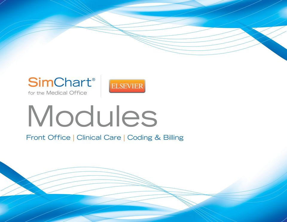 Modules  Front Office Clinical Care Coding & Billing - PDF