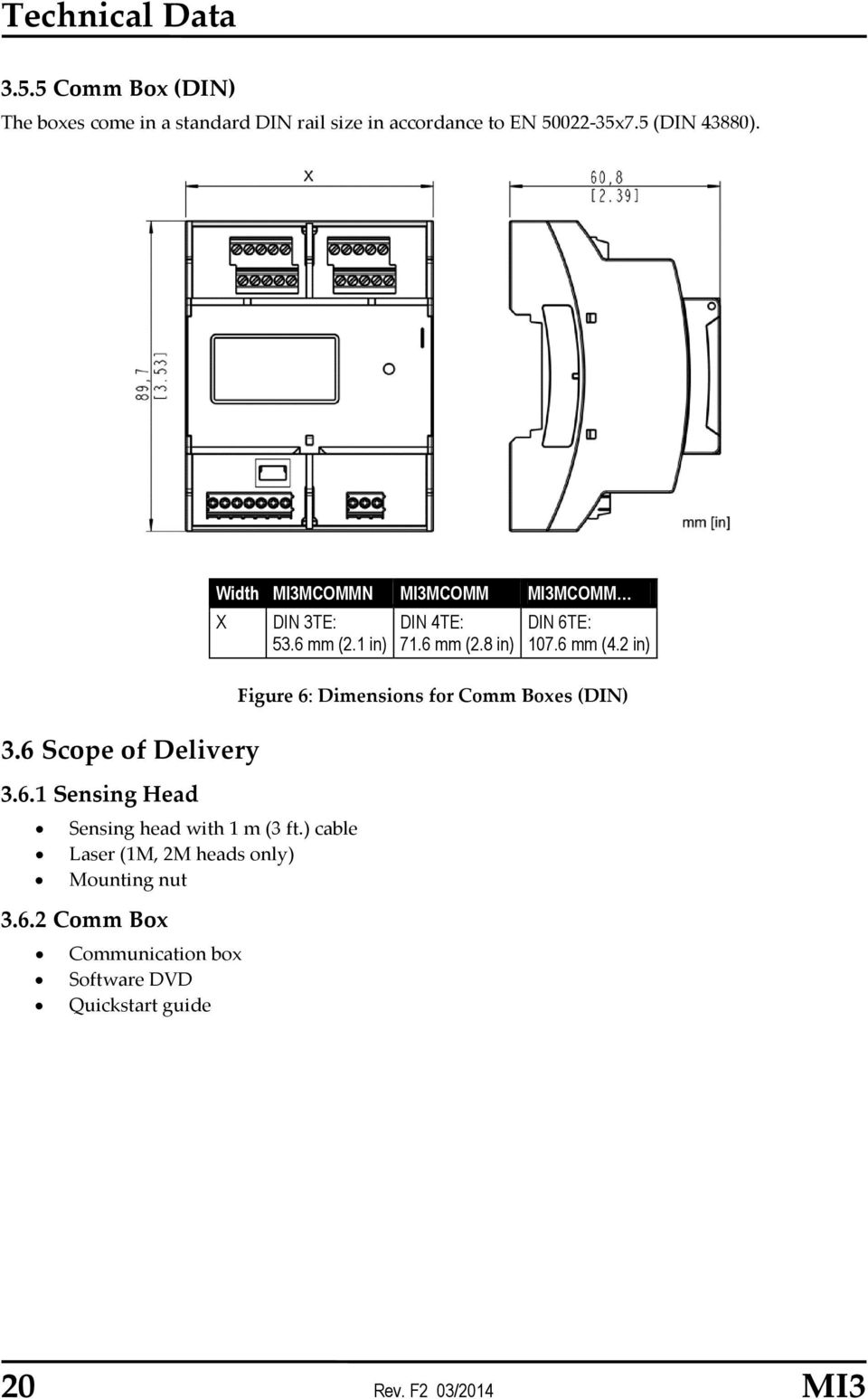 Mi3 Operating Instructions Miniature Infrared Sensor Rev F2 03 Pyromation Rtd Wiring Diagram 1 In Sensing Head With M 3 Ft Cable Laser