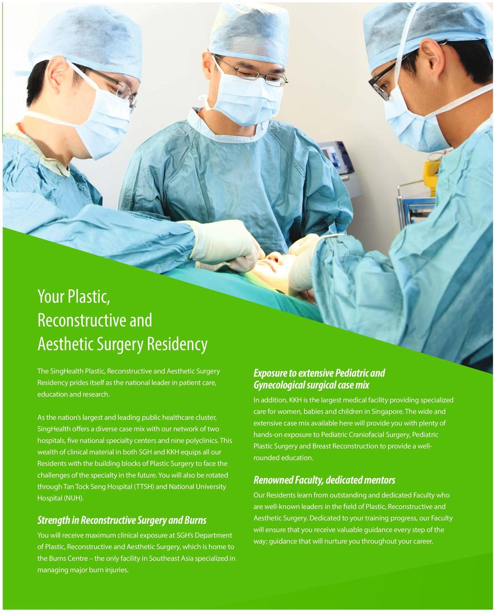 Plastic Reconstructive And Aesthetic Surgery Residency Program Pdf Free Download