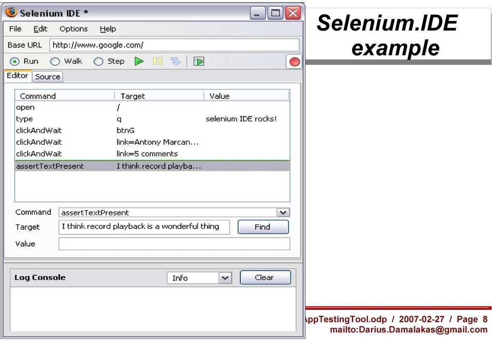Automated web application testing using Selenium - PDF