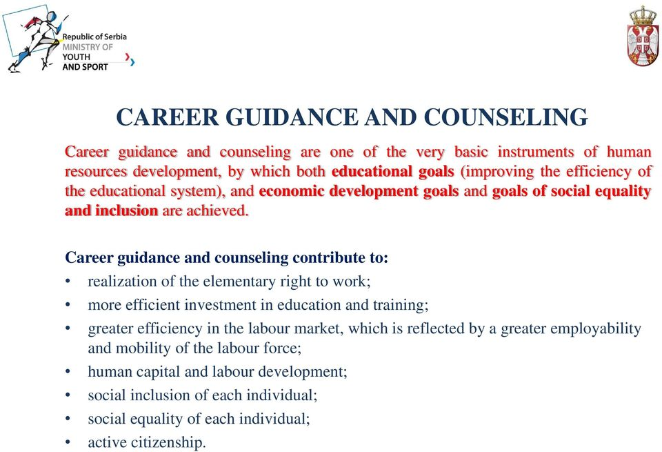 Educational vocational guidance and counselling pdf