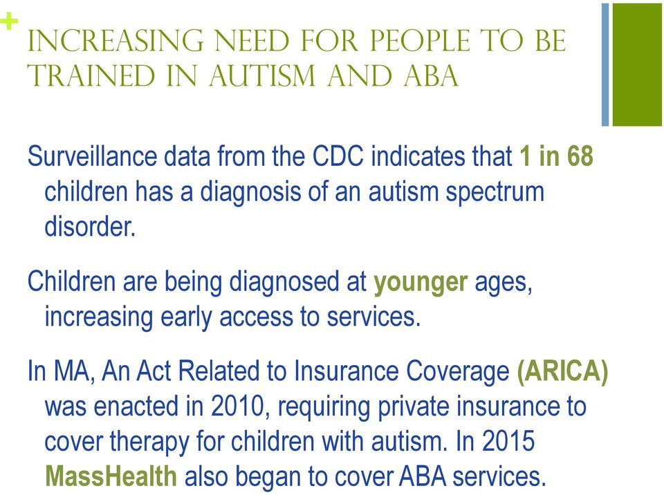 Autism Insurance Arica And Health >> The Impact Of Online Training On Staff Knowledge And Training
