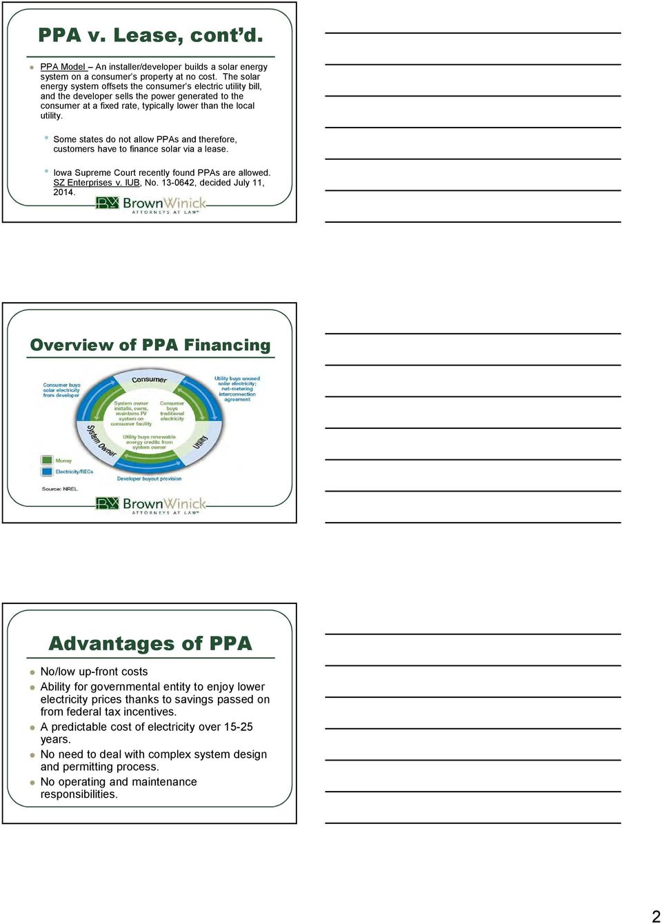 PPA v  Lease  What is a PPA? - PDF
