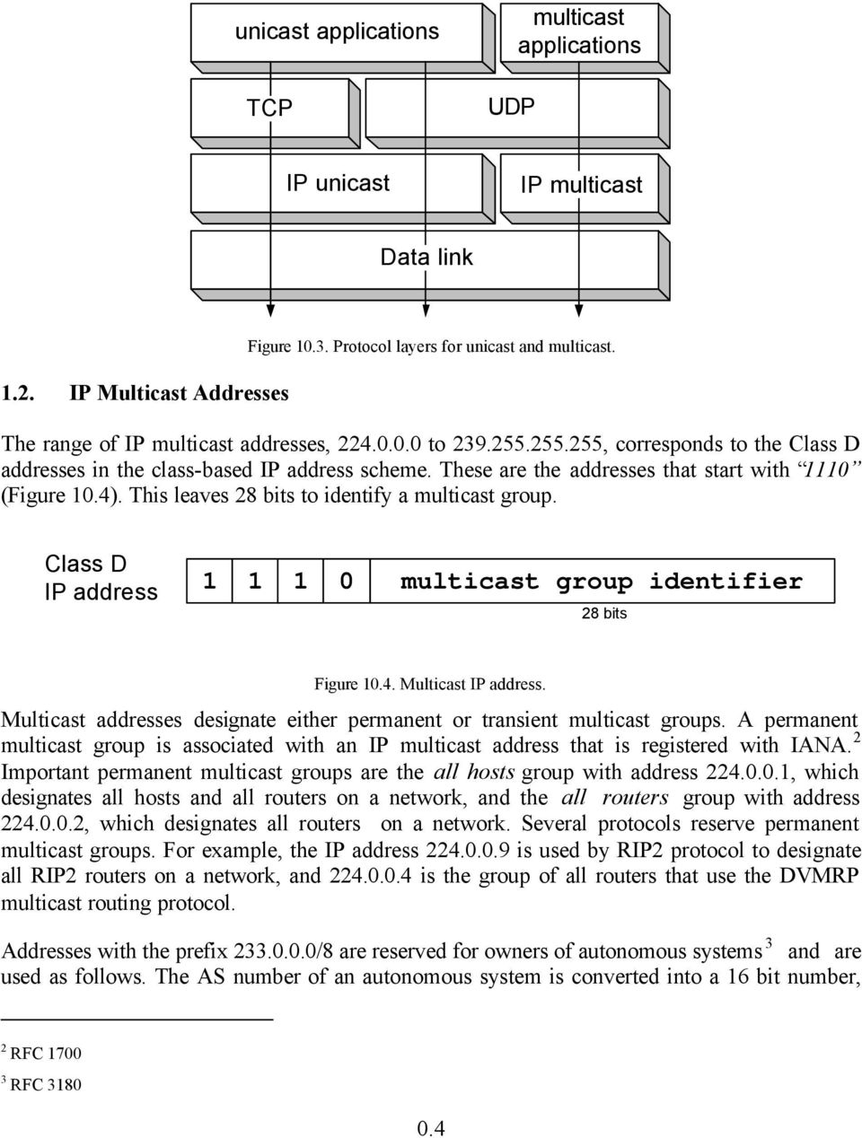 CHAPTER 10 IP MULTICAST - PDF