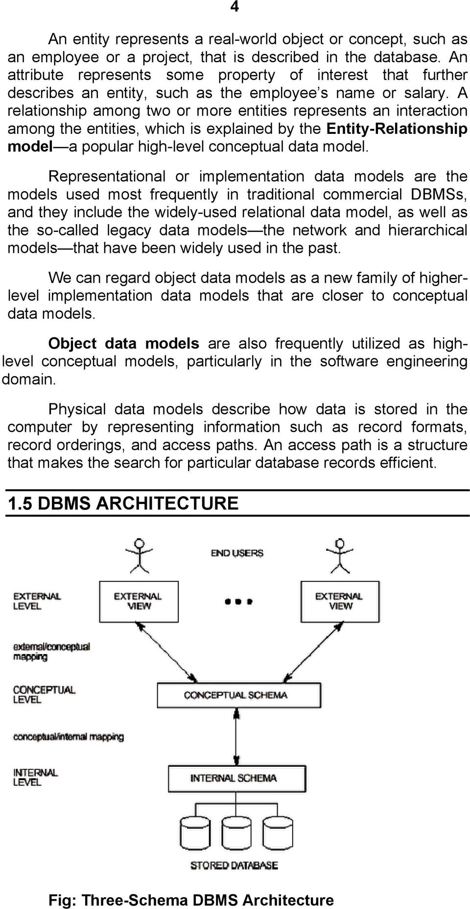 OVERVIEW 1 1 DATABASE MANAGEMENT SYSTEM (DBMS) DEFINITION