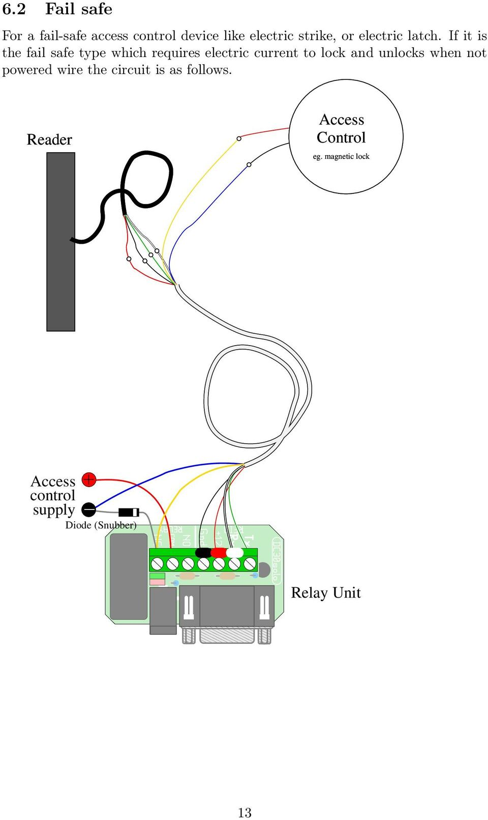 1 Contactless Smartcard Reader Setup Pdf Controlled Lock With Relay If It Is The Fail Safe Type Which Requires Electric Current To And