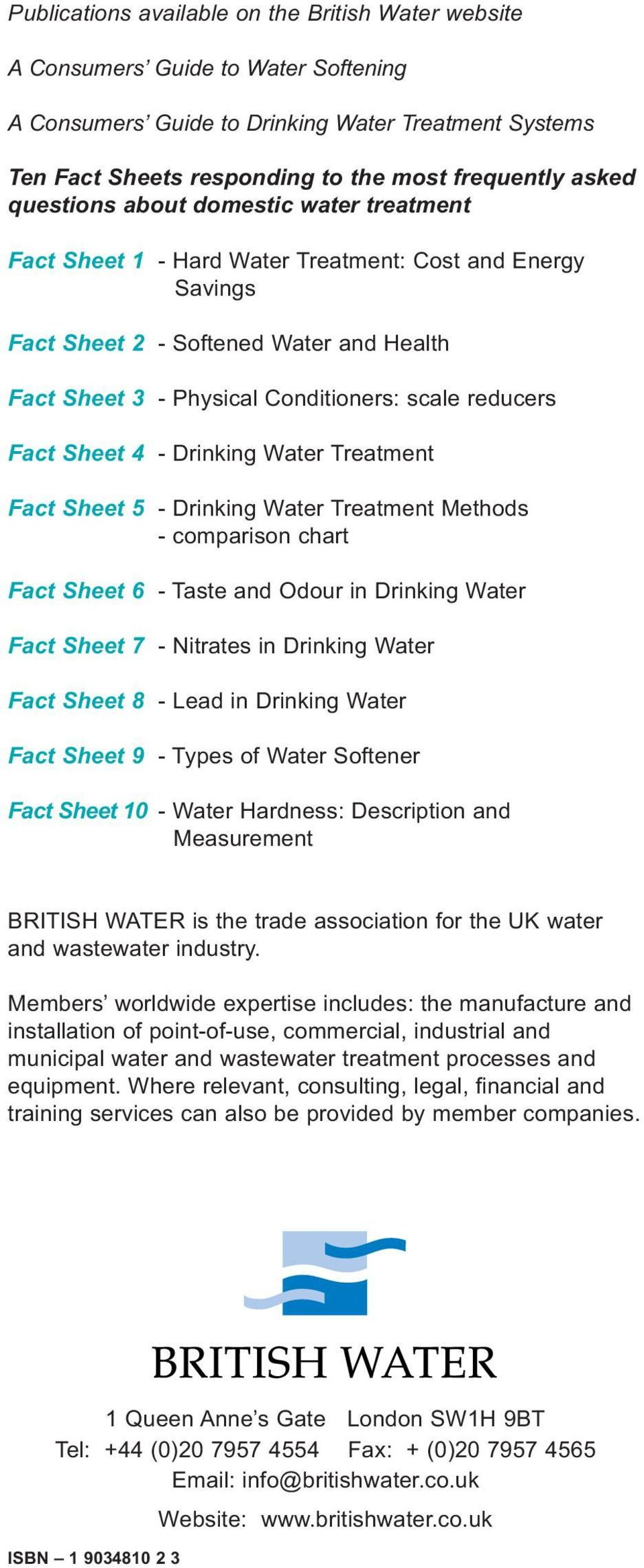 A Consumers Guide To Water Softening Pdf Diy Softener System Fact Sheet 4 Drinking Treatment 5 Methods