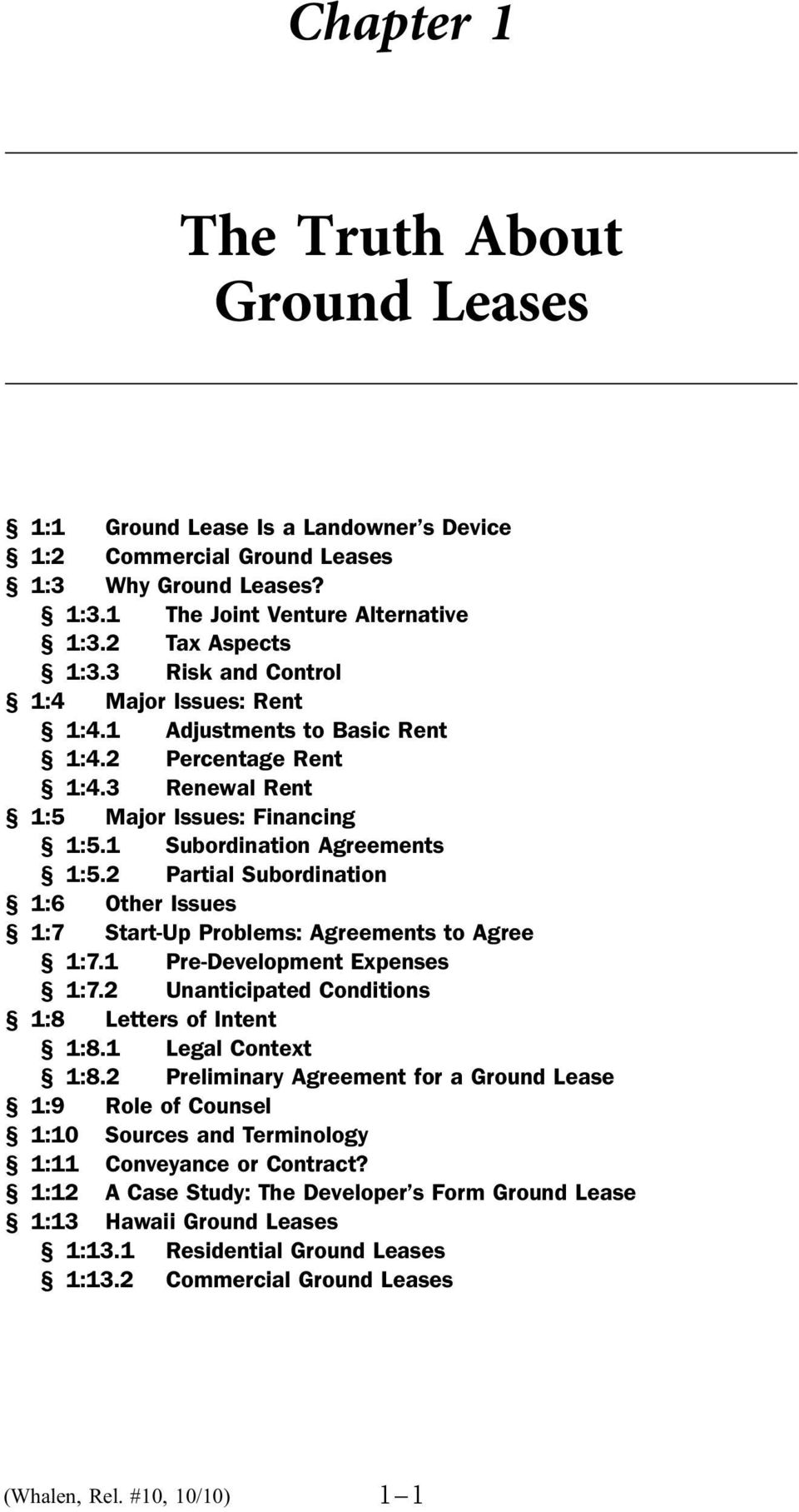 The Truth About Ground Leases Pdf