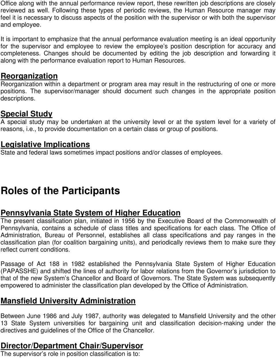 Overview of Position Classification Process - PDF