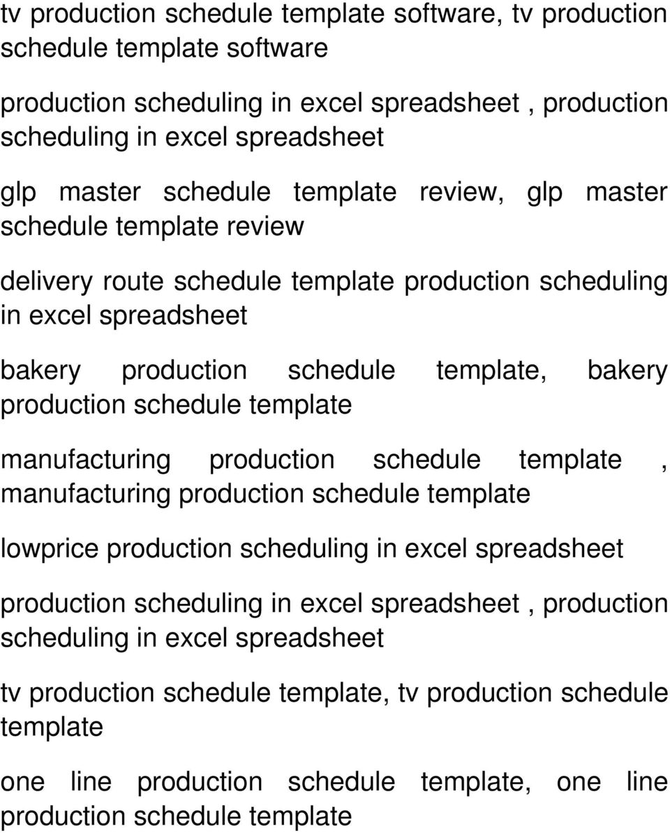 production schedule template manufacturing production schedule template, manufacturing production schedule template lowprice production