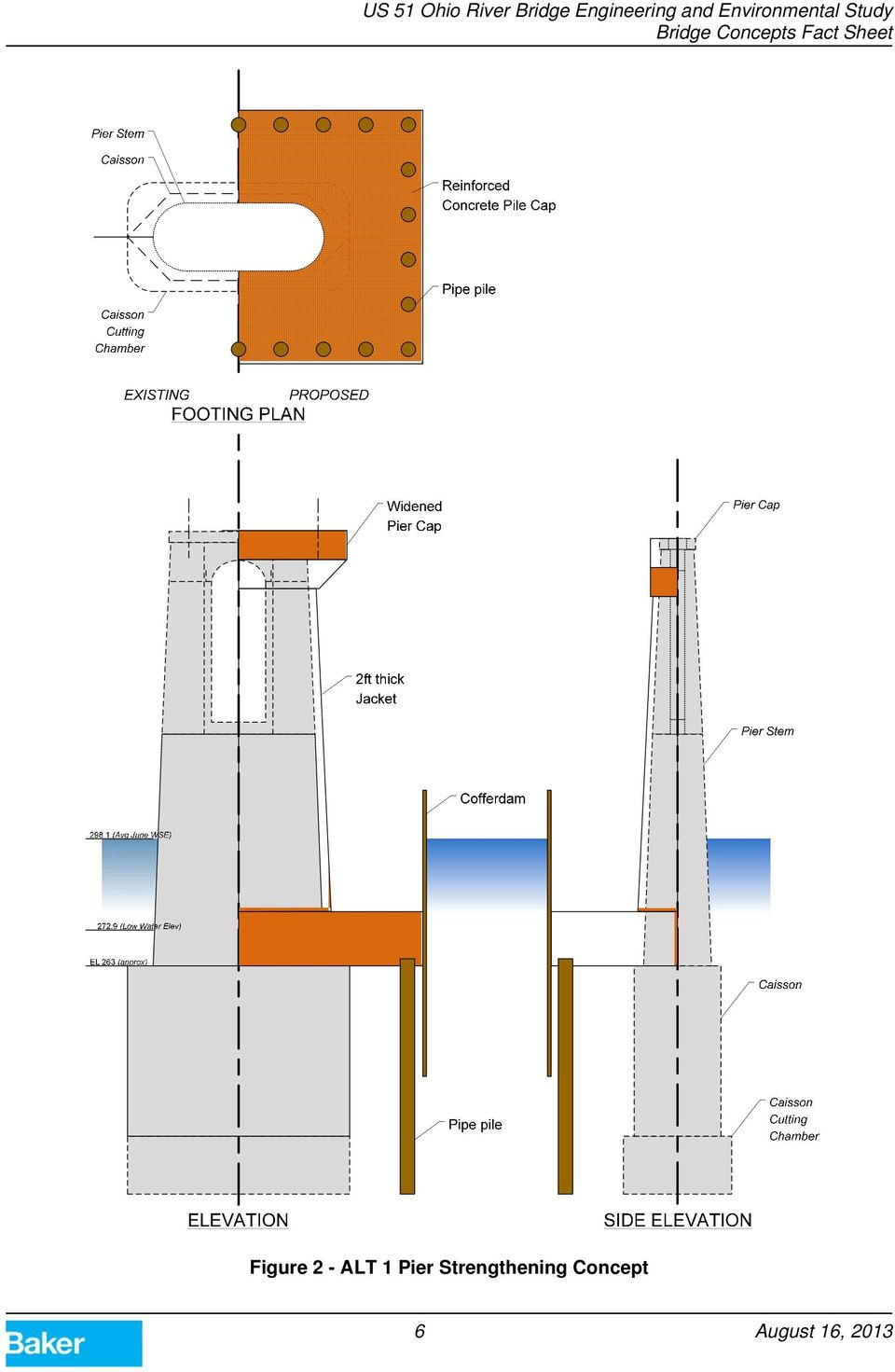 Us 51 Ohio River Bridge Engineering And Environmental Study Pdf Warren Truss Diagram Component Inside 7 Figure 3 Existing Layout Through Type A Conventional Variable Depth With Verticals Parallel Chord