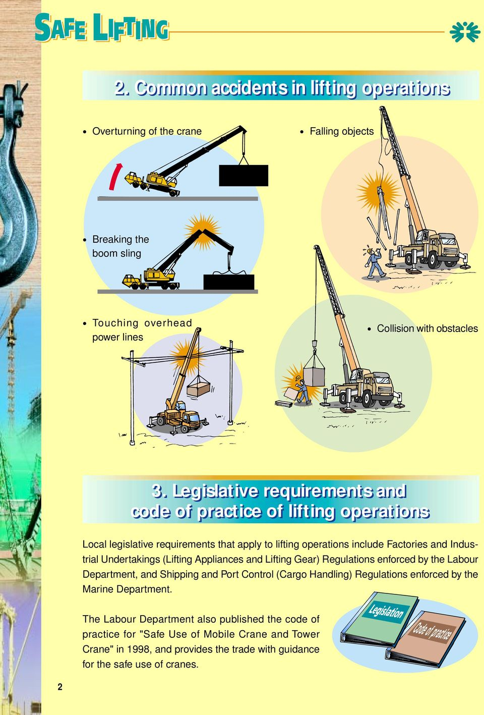 Contents  1  Foreword Common accidents in lifting operations