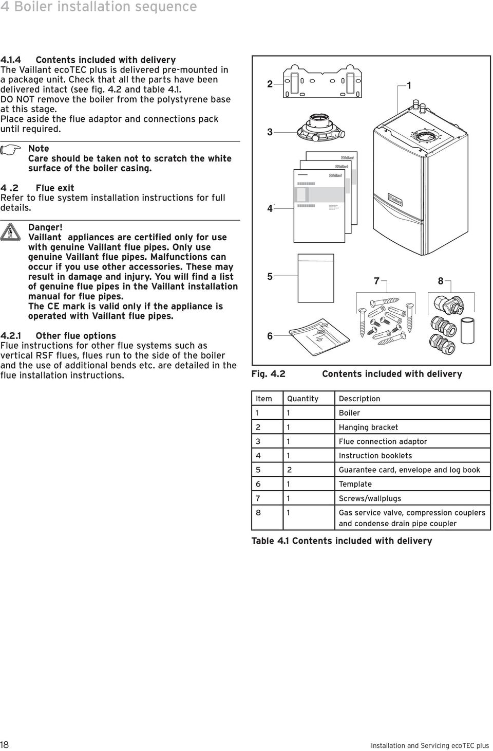 For the installer. Instructions for installation and servicing ...
