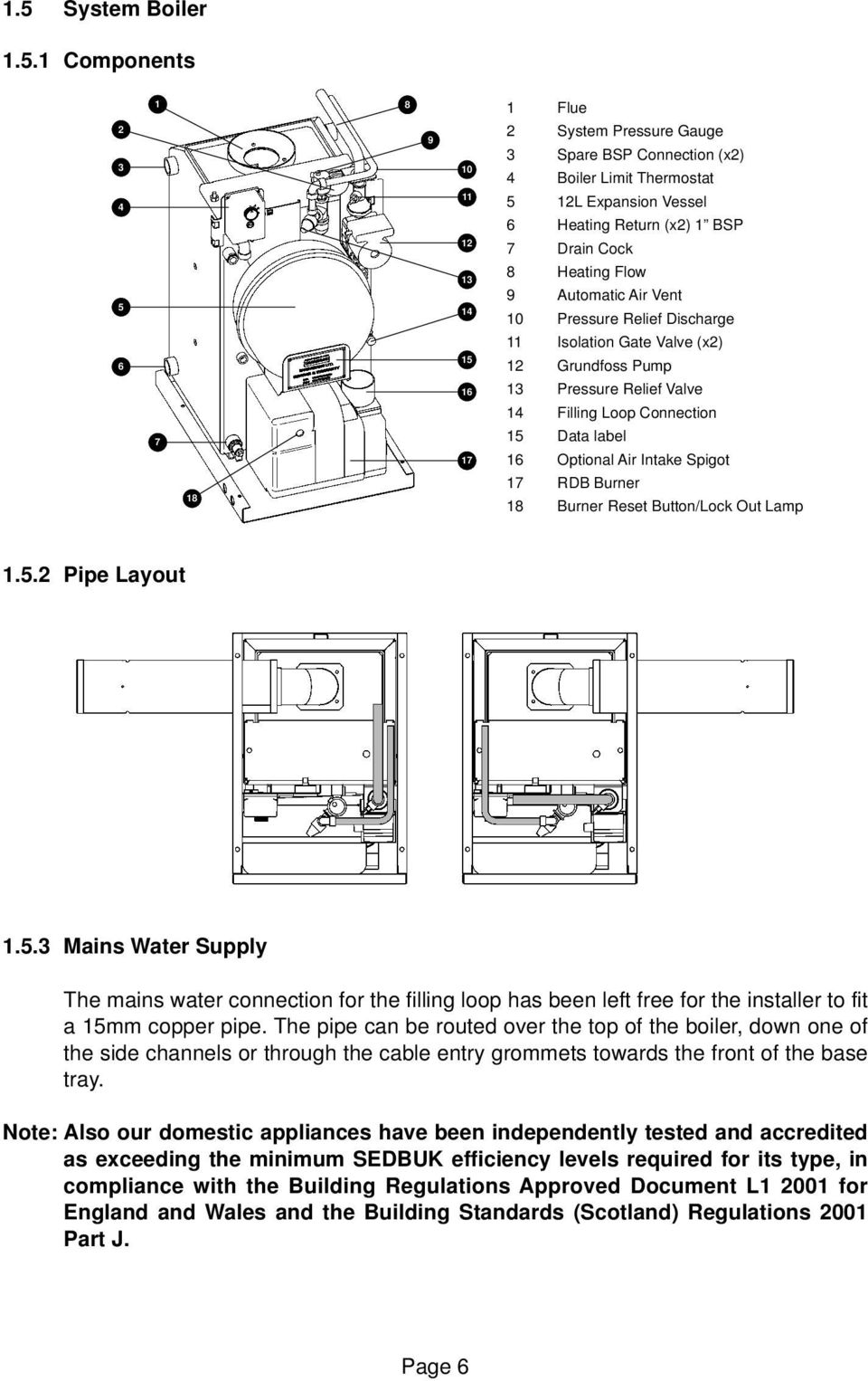 page_8 installation & servicing manual for pdf