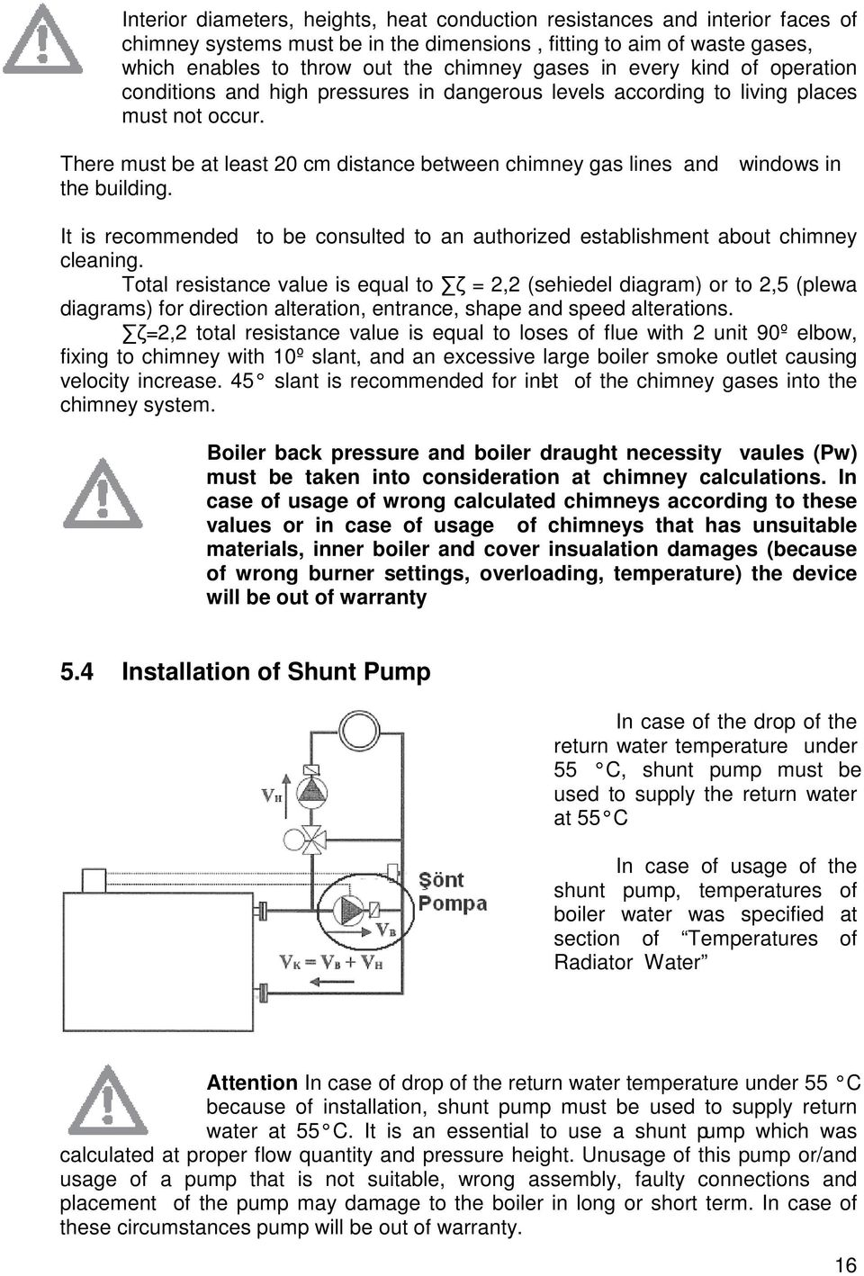 Troy Back Pressure Boiler Instructions For Installation And Washer Burner Wiring Diagram There Must Be At Least 20 Cm Distance Between Chimney Gas Lines Windows In The