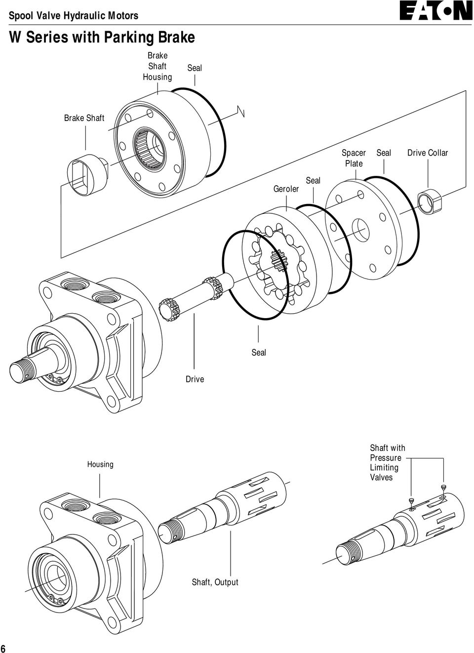 Drive Shaft with Pressure