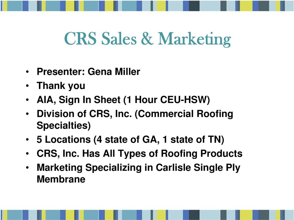 Crs Sales Marketing Pdf Free Download
