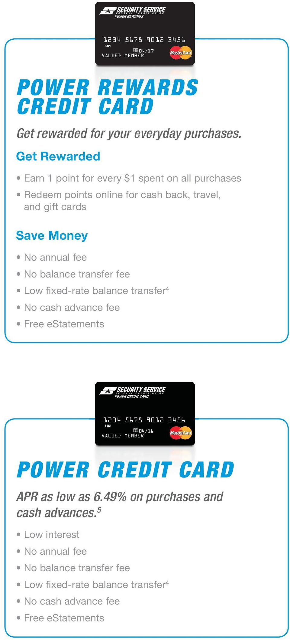 POWER ACCOUNT FEATURES - PDF