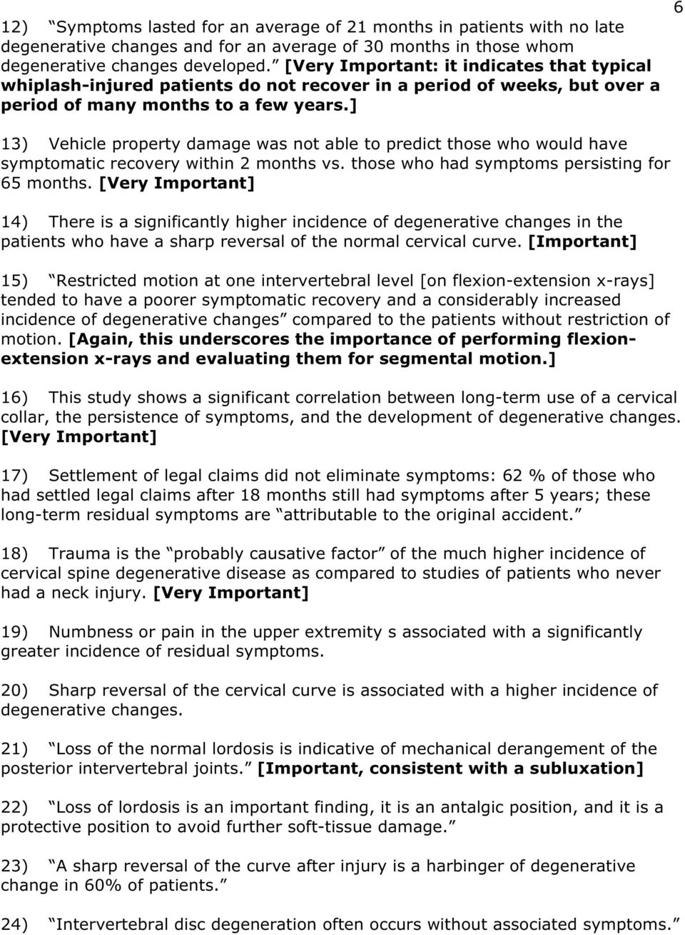 Soft-tissue injuries of the neck in automobile accidents: Factors