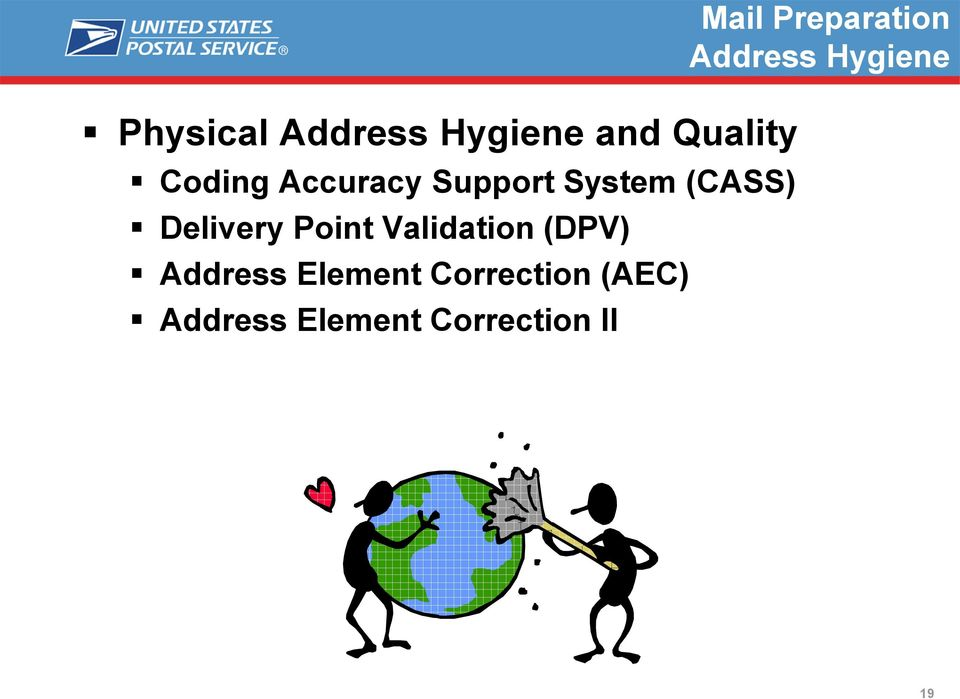 (CASS) Delivery Point Validation (DPV) Address