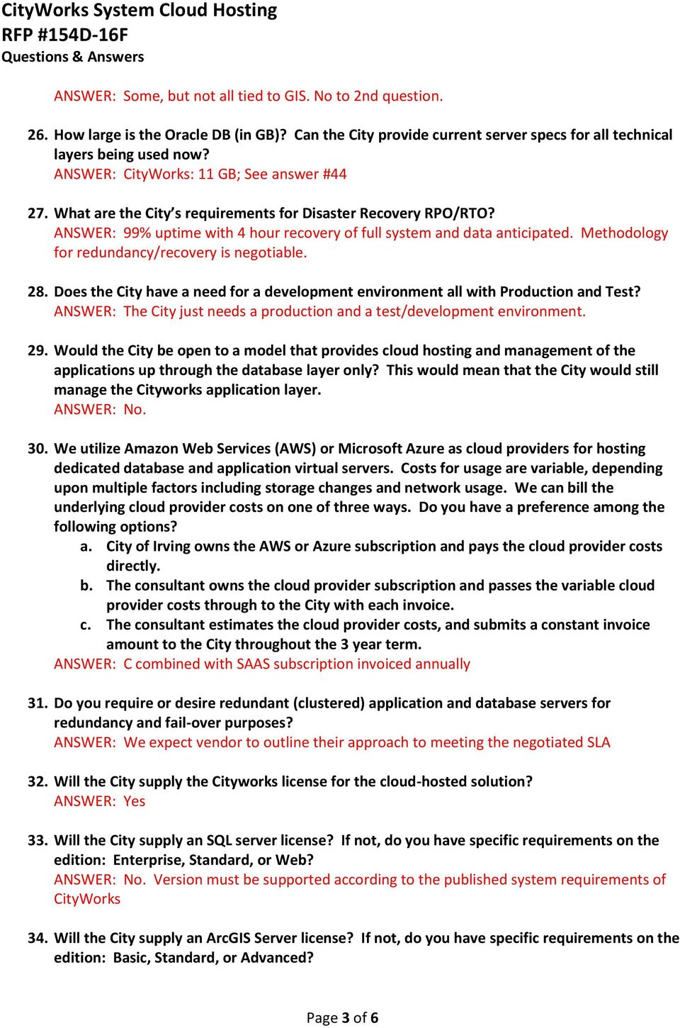 Addendum 1 RFP #154D-16F CityWorks System Cloud Hosting - PDF