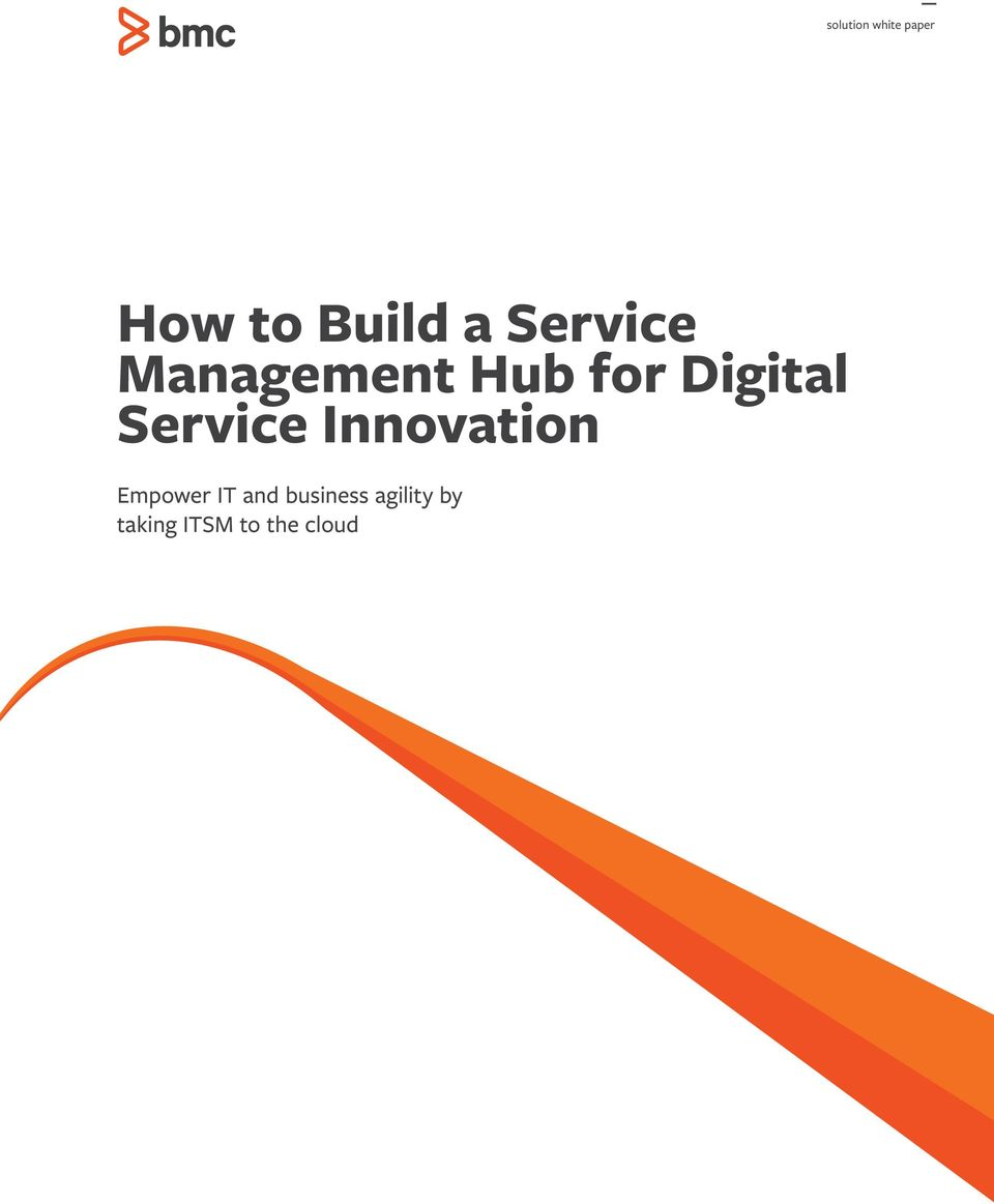 Service Innovation Empower IT and
