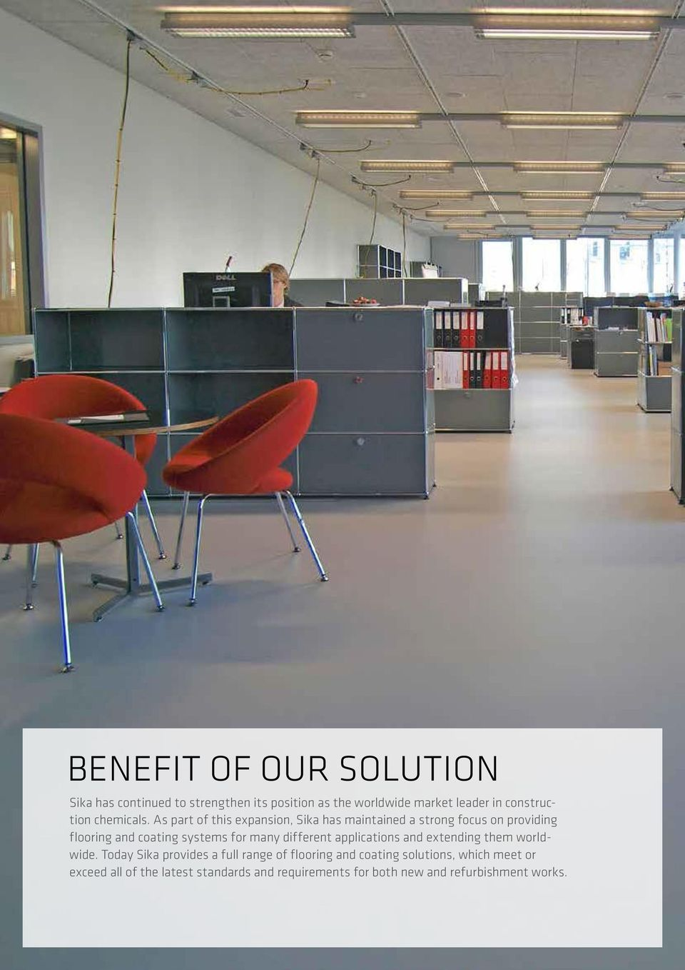FLOORING SIKA TECHNOLOGY AND CONCEPTS FOR FLOORING AND COATING - PDF
