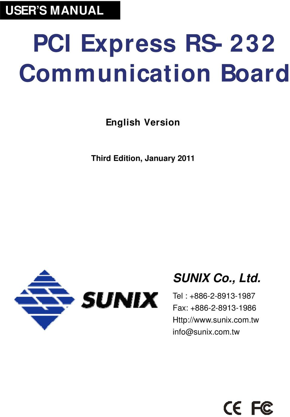 SUNIX Co., Ltd.