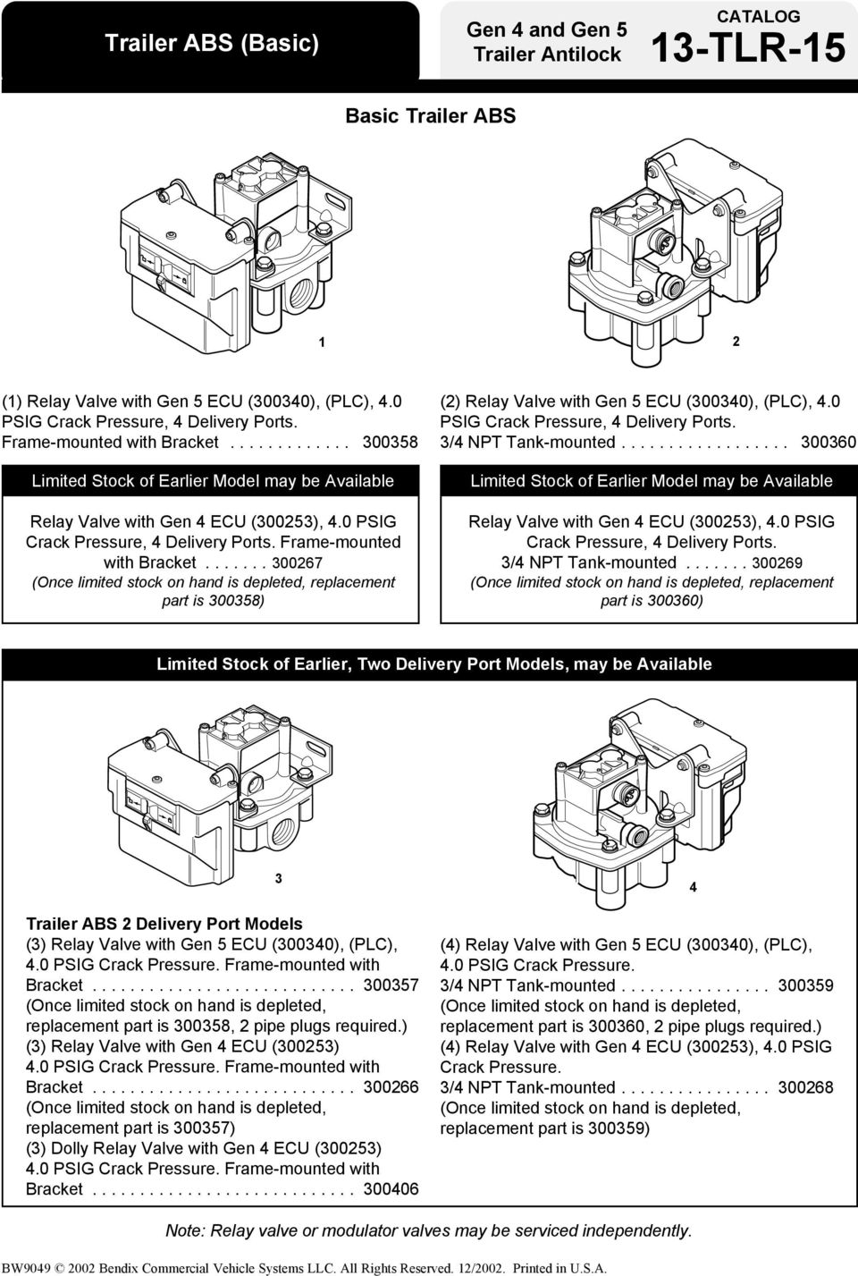 Bendix Abs For Trailers Pdf Trailer Wiring Diagram Frame Mounted With Bracket 300267 Once Limited