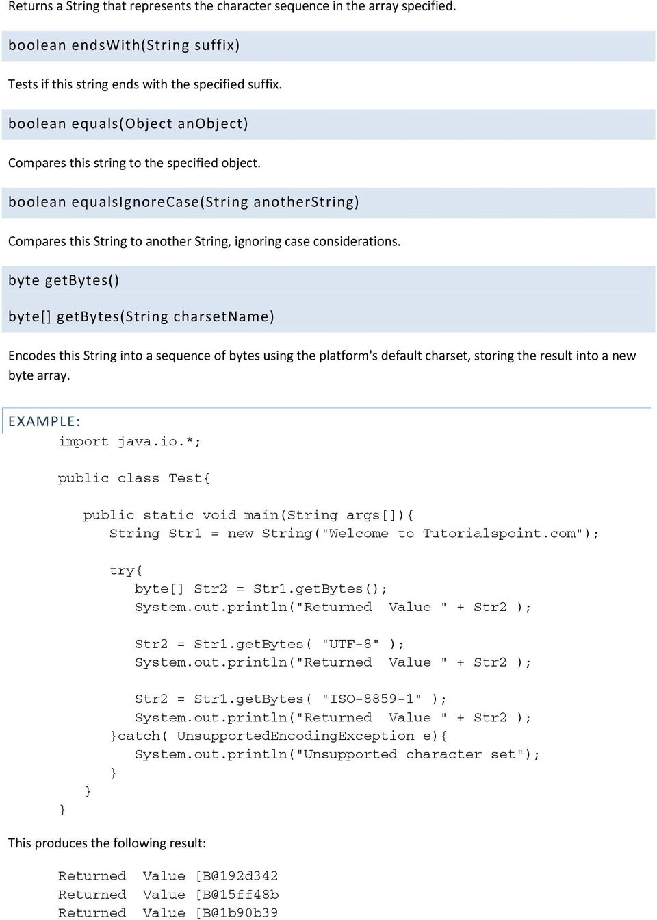 JAVA NUMBERS, CHARS AND STRINGS - PDF