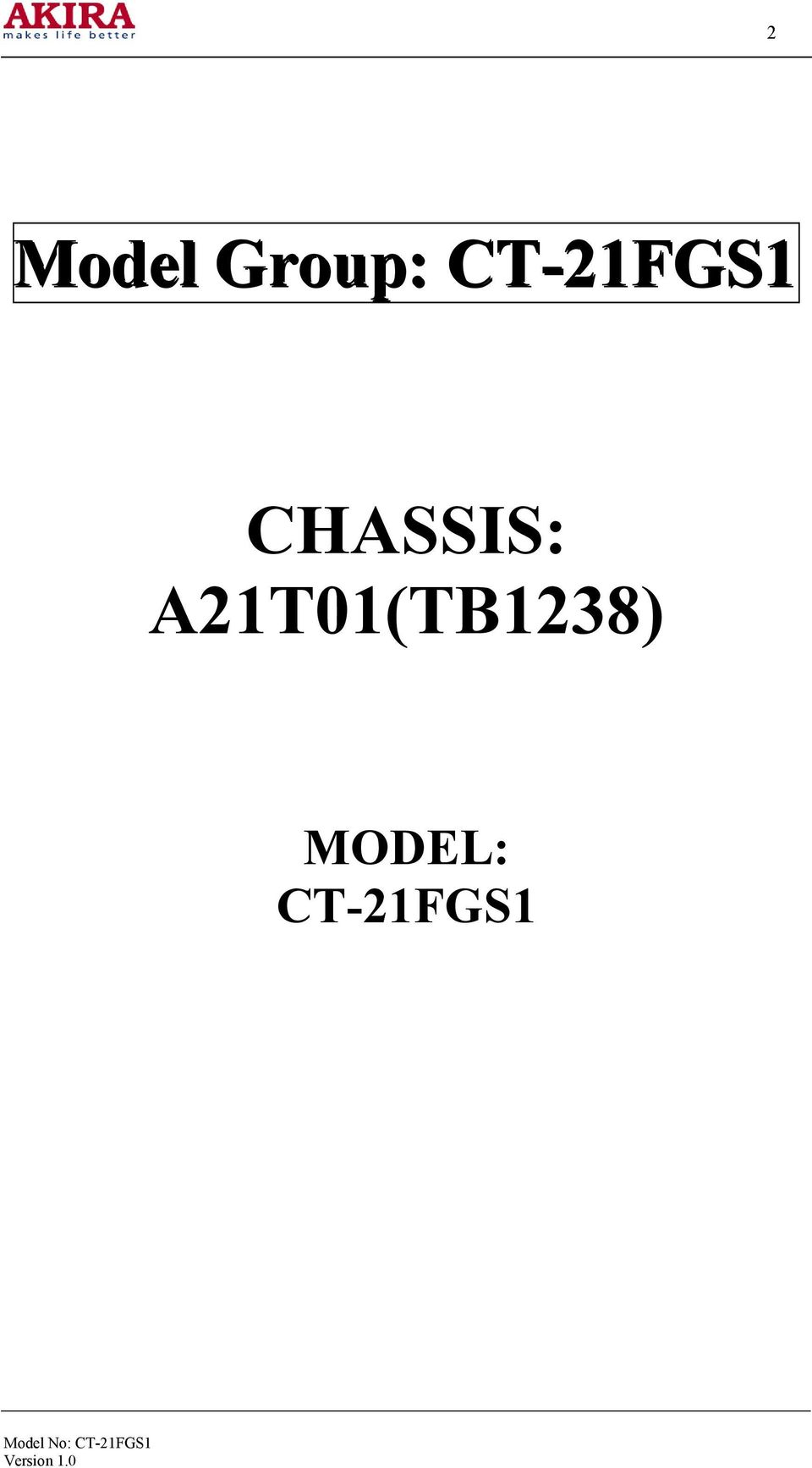 chassis  a21t01 tb1238