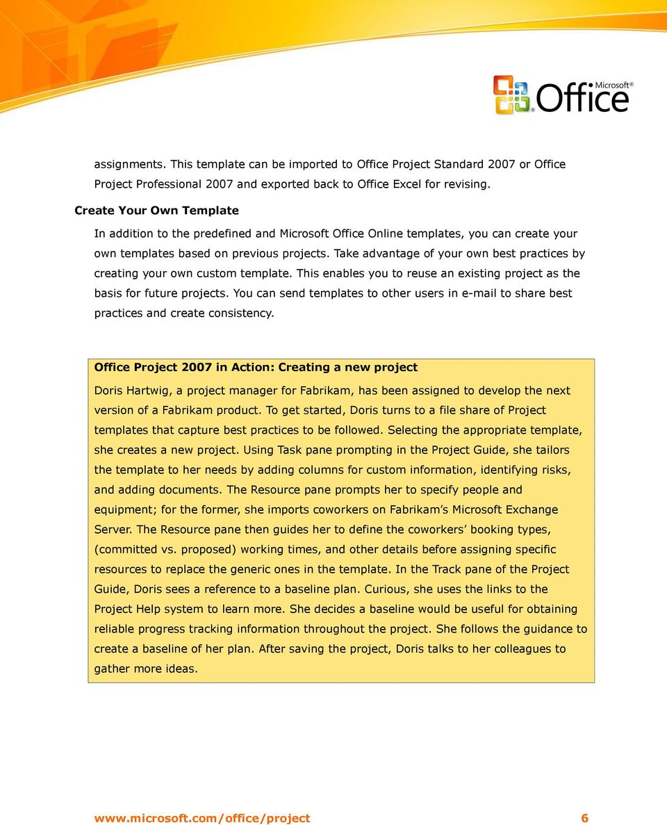 Microsoft Office Project Standard 2007 Project Professional April