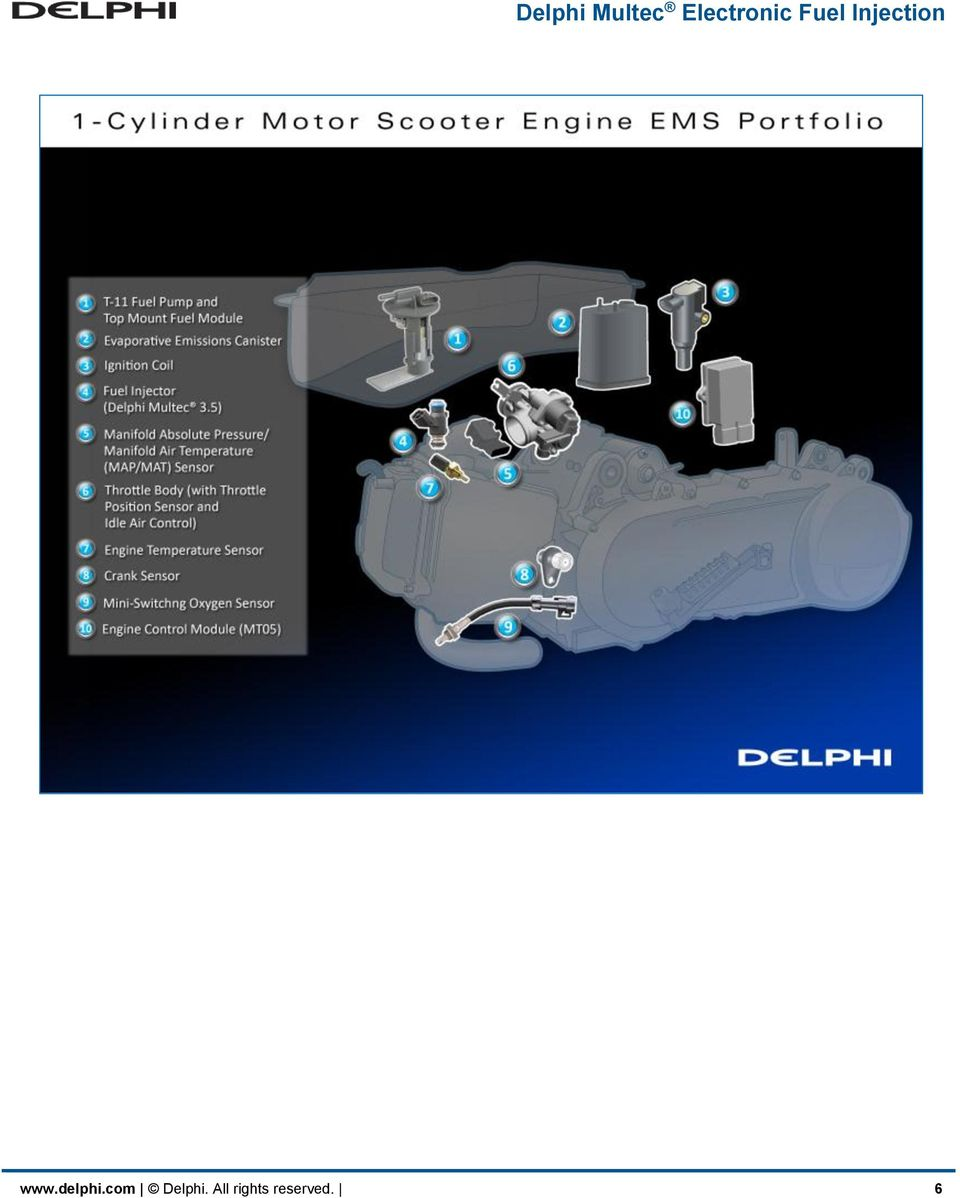 Delphi Multec Electronic Fuel Injection Pdf System Diagram On Harley Davidson Efi Pump All Rights