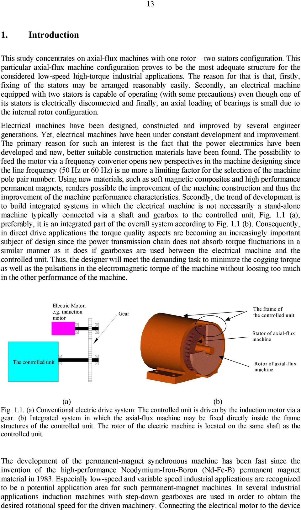 DESIGN OF AXIAL-FLUX PERMANENT-MAGNET LOW-SPEED MACHINES AND