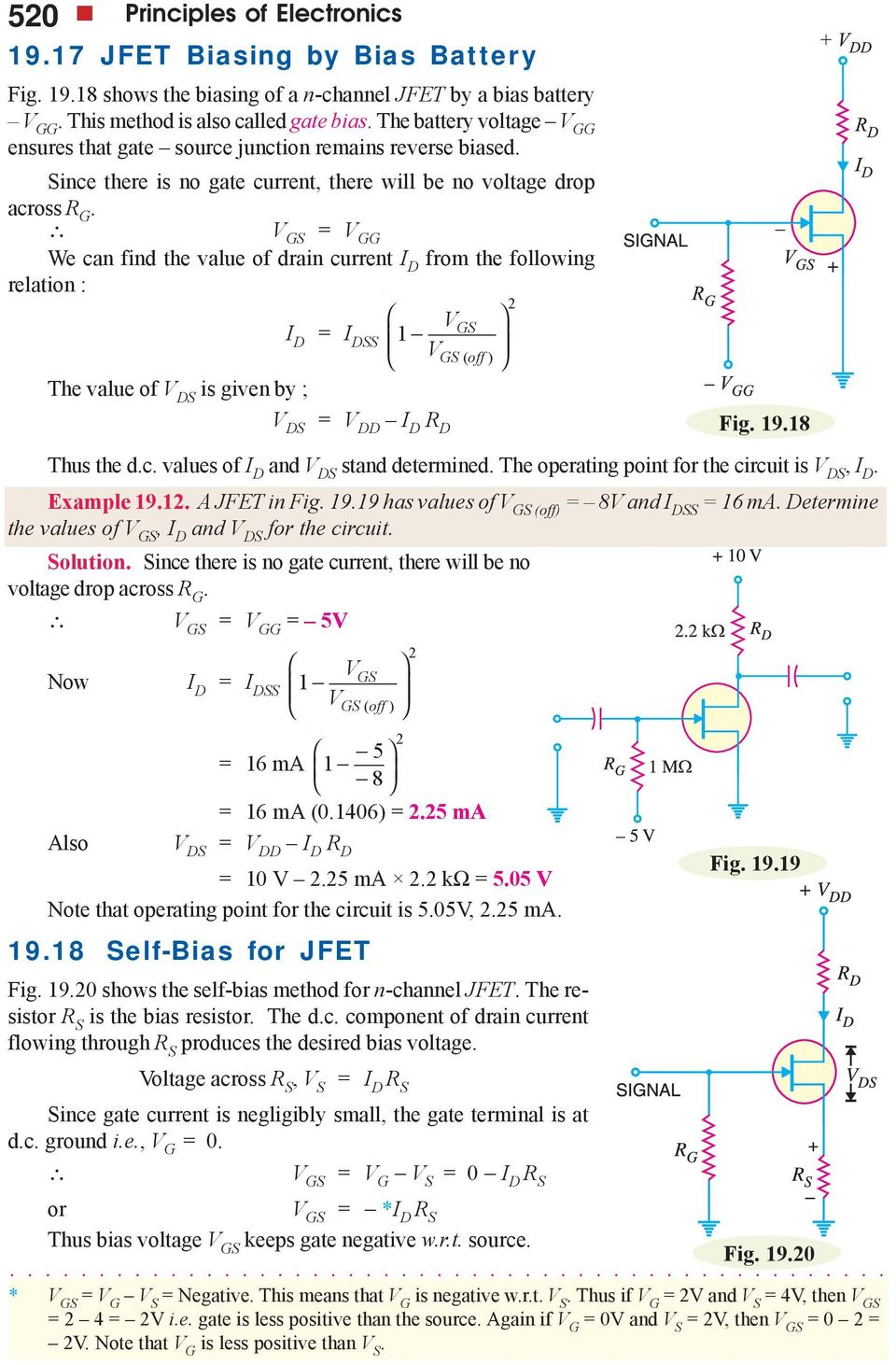 Field Effect Transistors Pdf Mosfet Circuit Http Amplifiercircuitnet 50wattmosfetamplifier D I Dss 1 Off The Value Of Ds Is Given By Dd