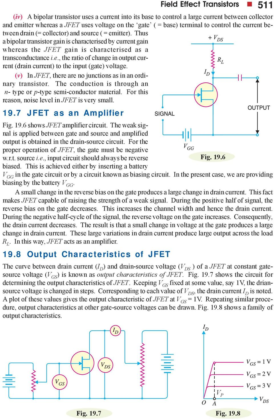 Field Effect Transistors Pdf Zero Or Lowcurrent Voltage Divider For Switch Ie The Ratio Of Change In Output Current Drain To Input