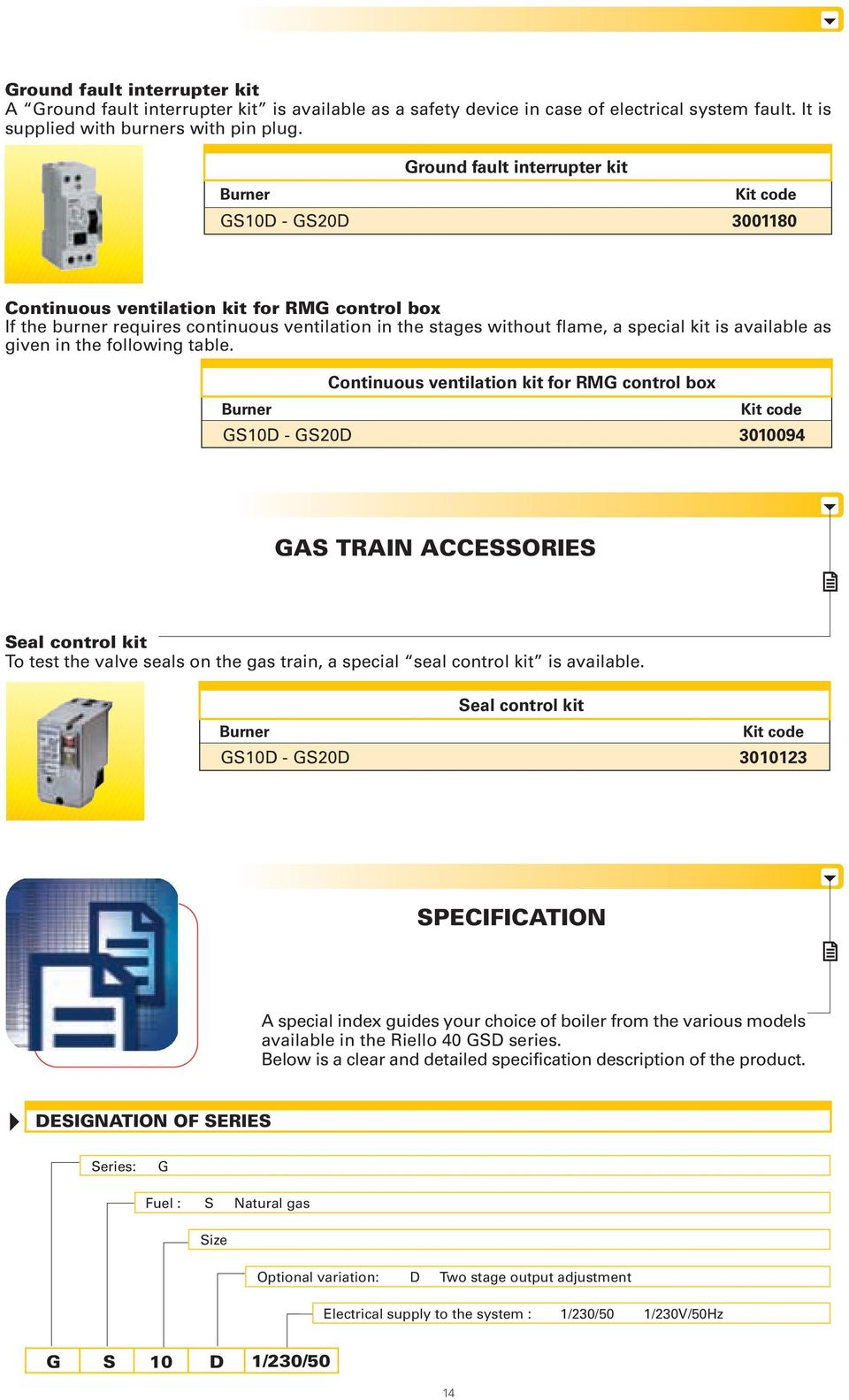 Riello 40 G 38 Manual Nissan Radio Wiring Harness Diagram Pn 2273 Array Two Stage Gas Burners Gsd Series Gs10d 29 Kw Gs20d 58