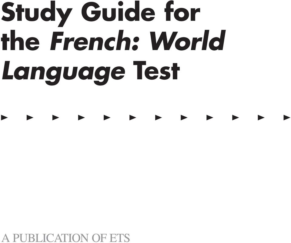 The Official Study Guide - PDF