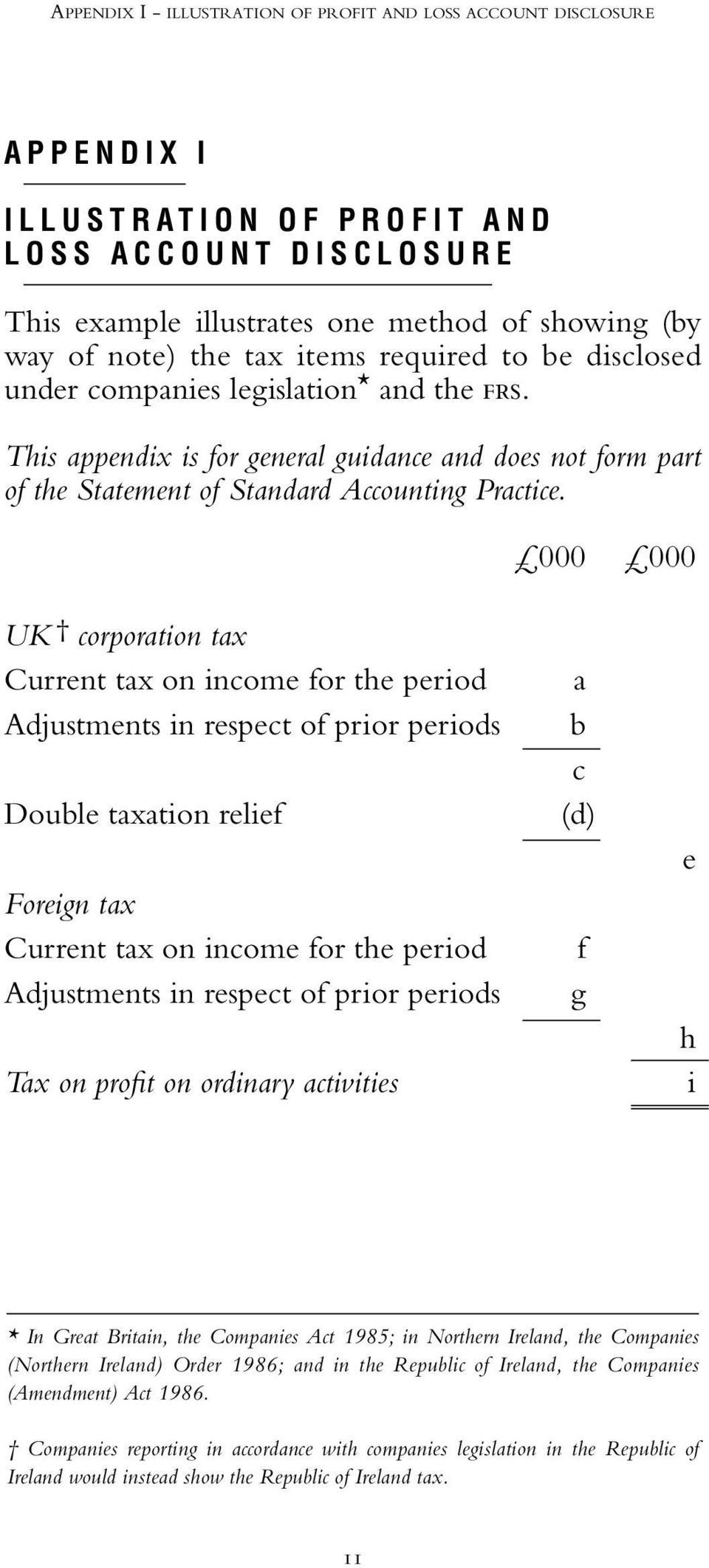 000 000 UK corporation tax Current tax on income for the period Adjustments in respect of prior periods Double taxation relief Foreign tax Current tax on income for the period Adjustments in respect