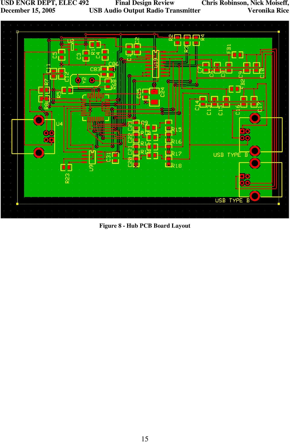 Usb Audio Output Transmitter Electrical Engineering Senior Design Pdf Mp3 Player Circuit Board Rev A Schematic Diagrams