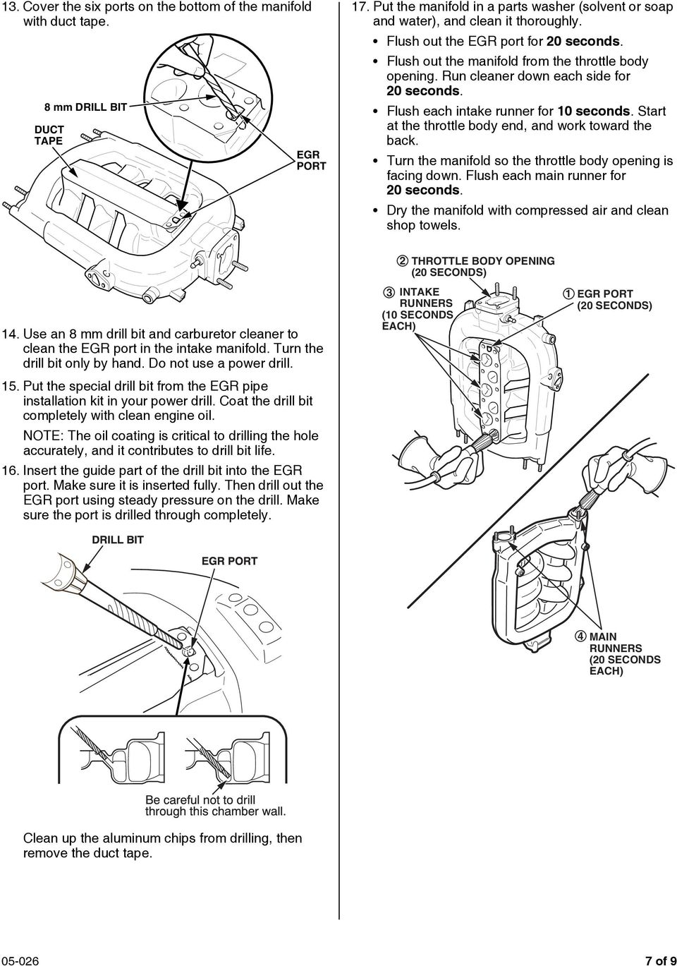 Dtc P0401 P1491 Pdf 2000 Dodge Durango Evaporative System Monitor Schematic Diagram Start At The Throttle Body End And Work Toward Back Turn Manifold