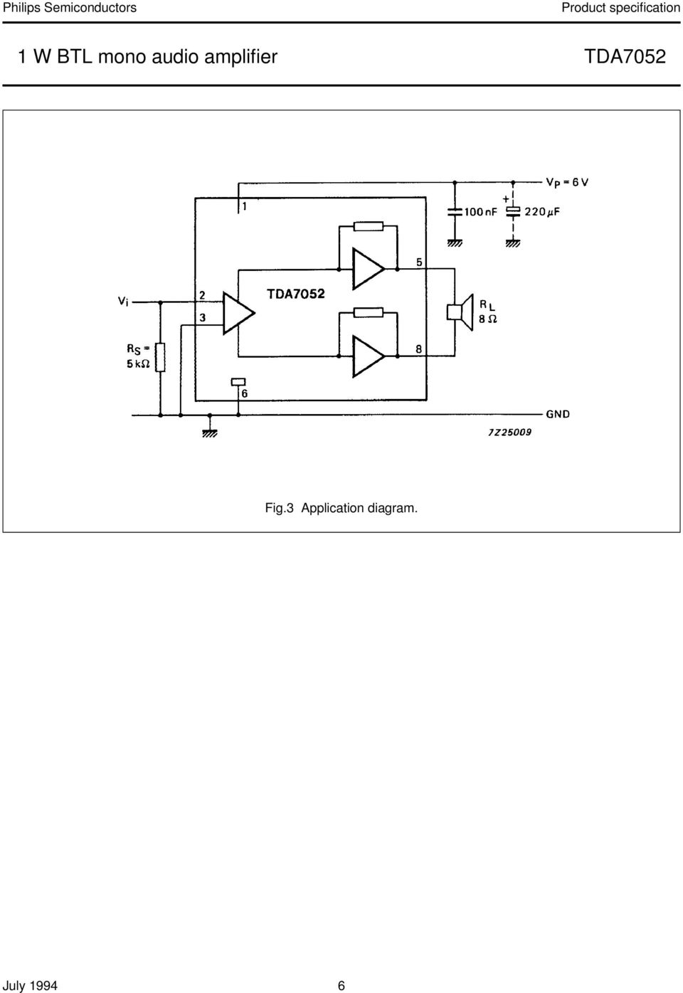 Kit 27 1w Tda7052 Power Amplifier Pdf How To Build Your Own 10watt Using An Ic Tda 2003 8 Package Outline Dip8 Plastic Dual In Line Leads 300 Mil Sot97 1 D M E Seating Plane A 2 L Z B W C