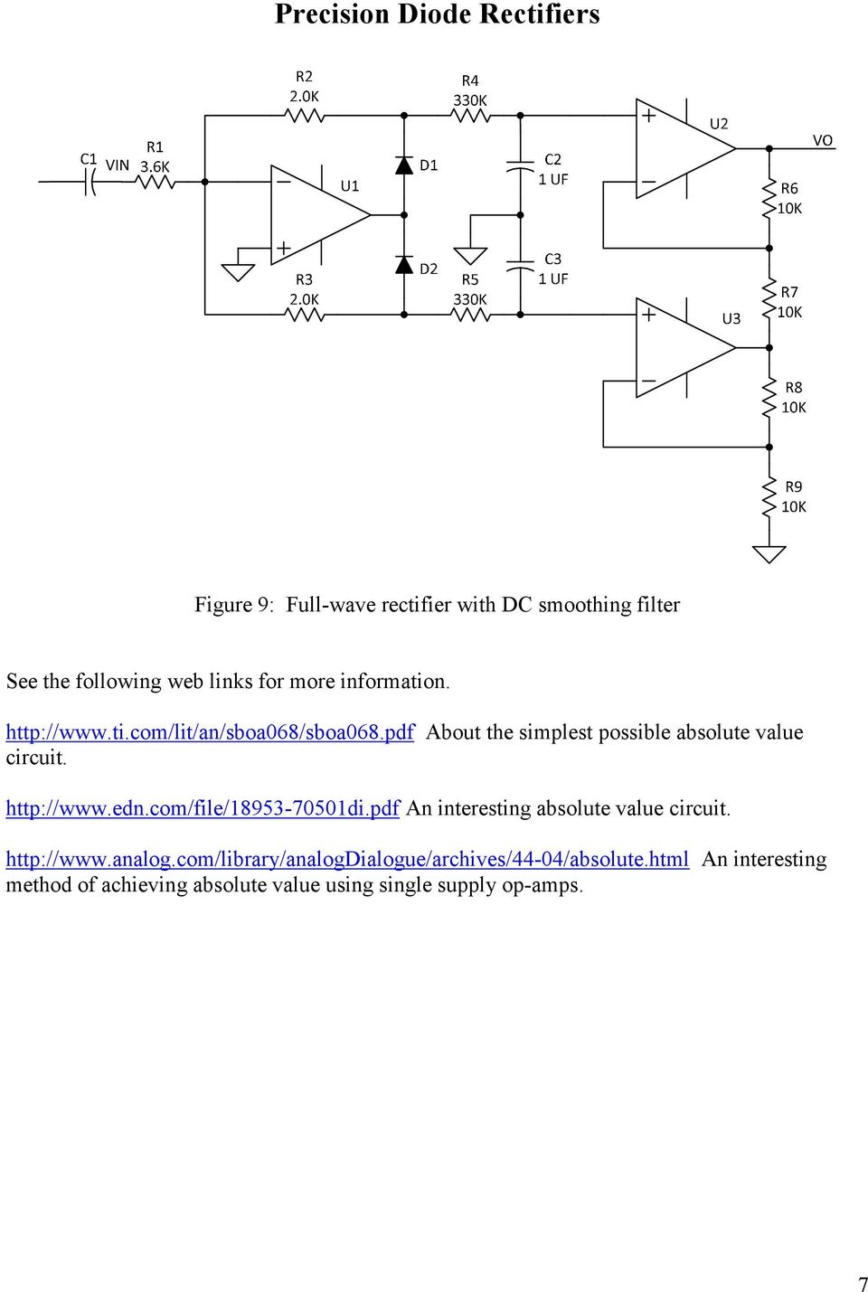 Precision Diode Rectifiers Pdf Full Wave Rectifier Circuit With Averaging Filter Pictures Edncom File 18953 70501dipdf An Interesting Absolute Value