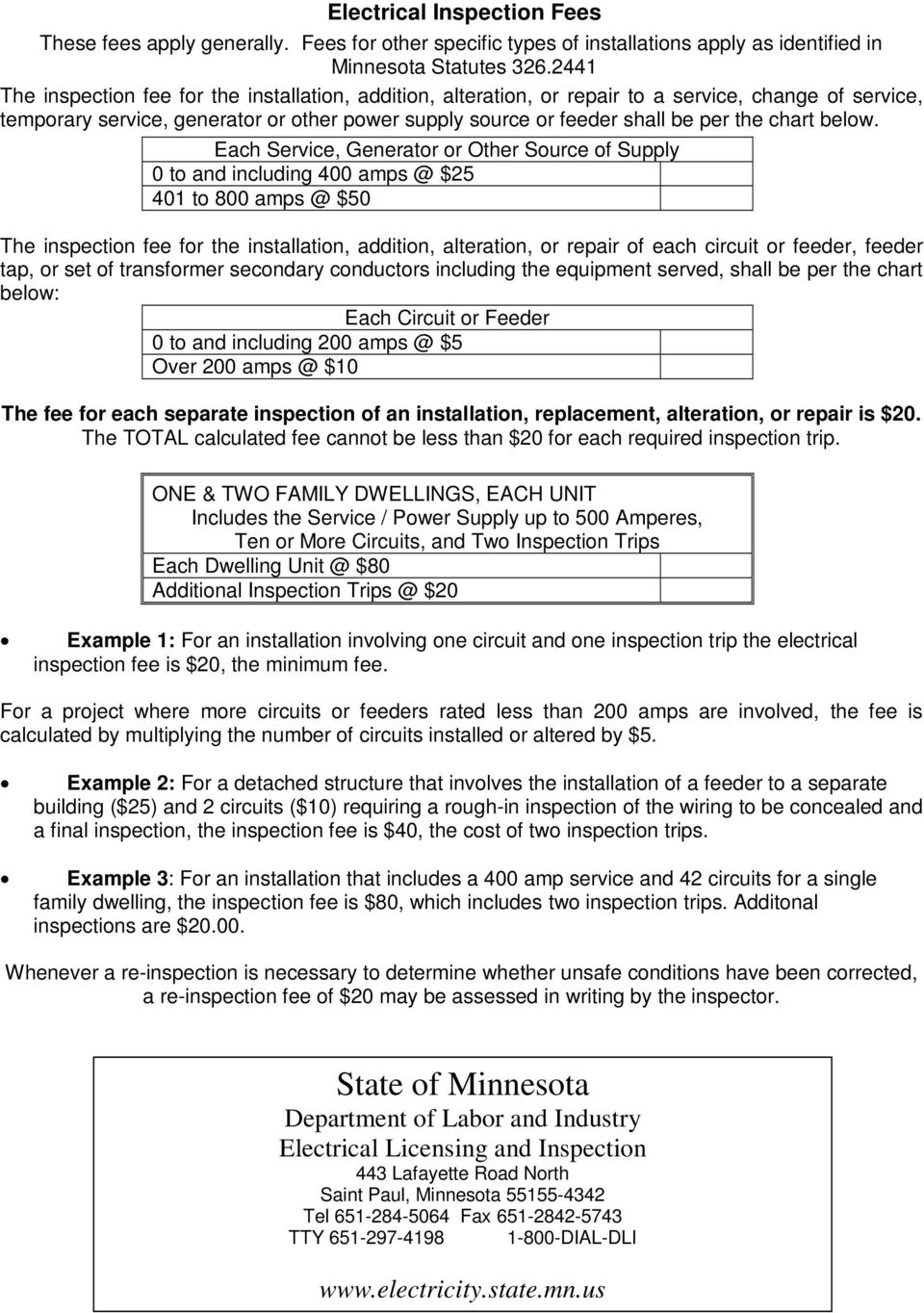 Residential Electrical Inspection  Checklist - PDF