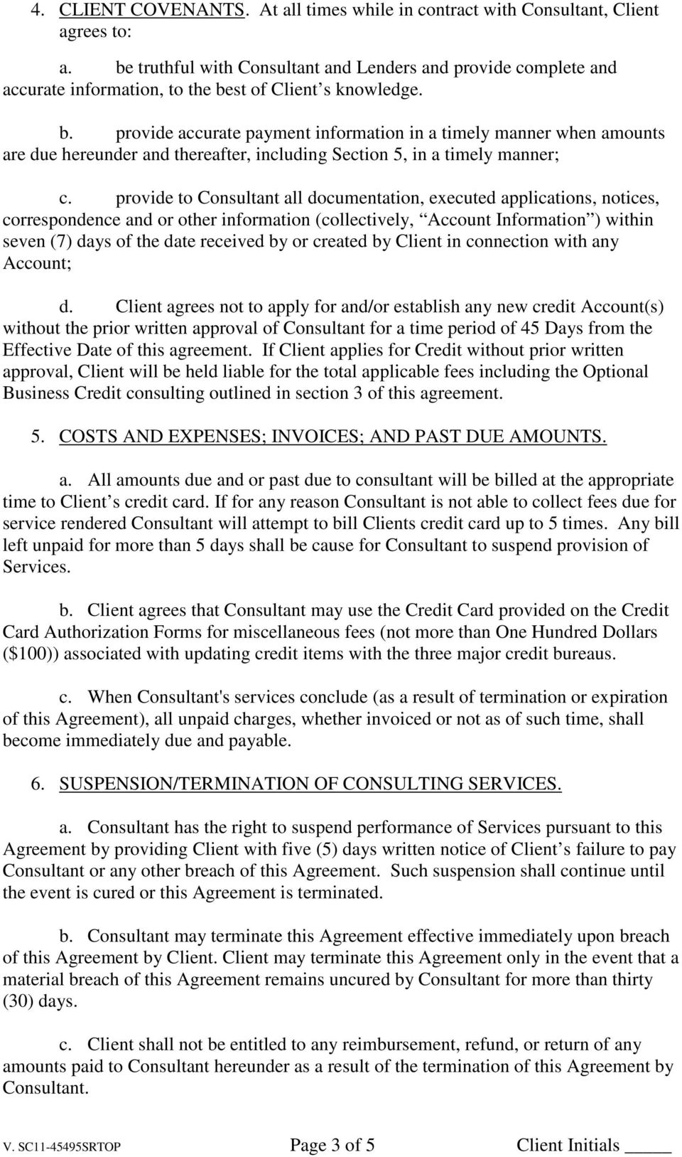 SEED CAPITAL CORP BUSINESS CONSULTING SERVICES AGREEMENT - PDF