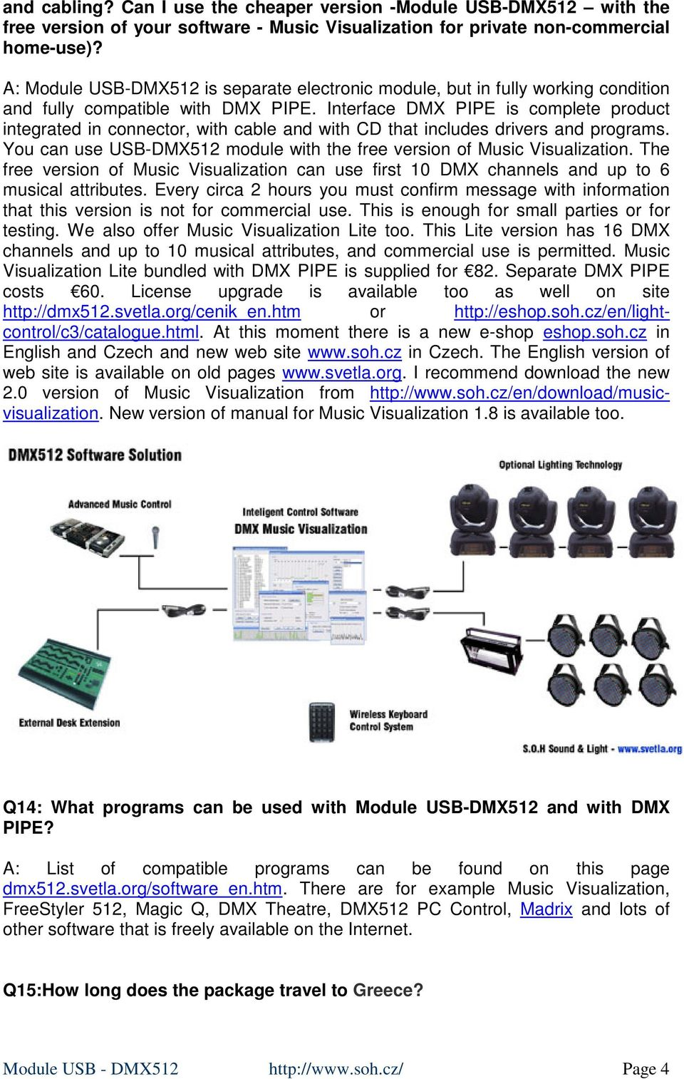 Module USB-DMX512 and DMX PIPE - PDF