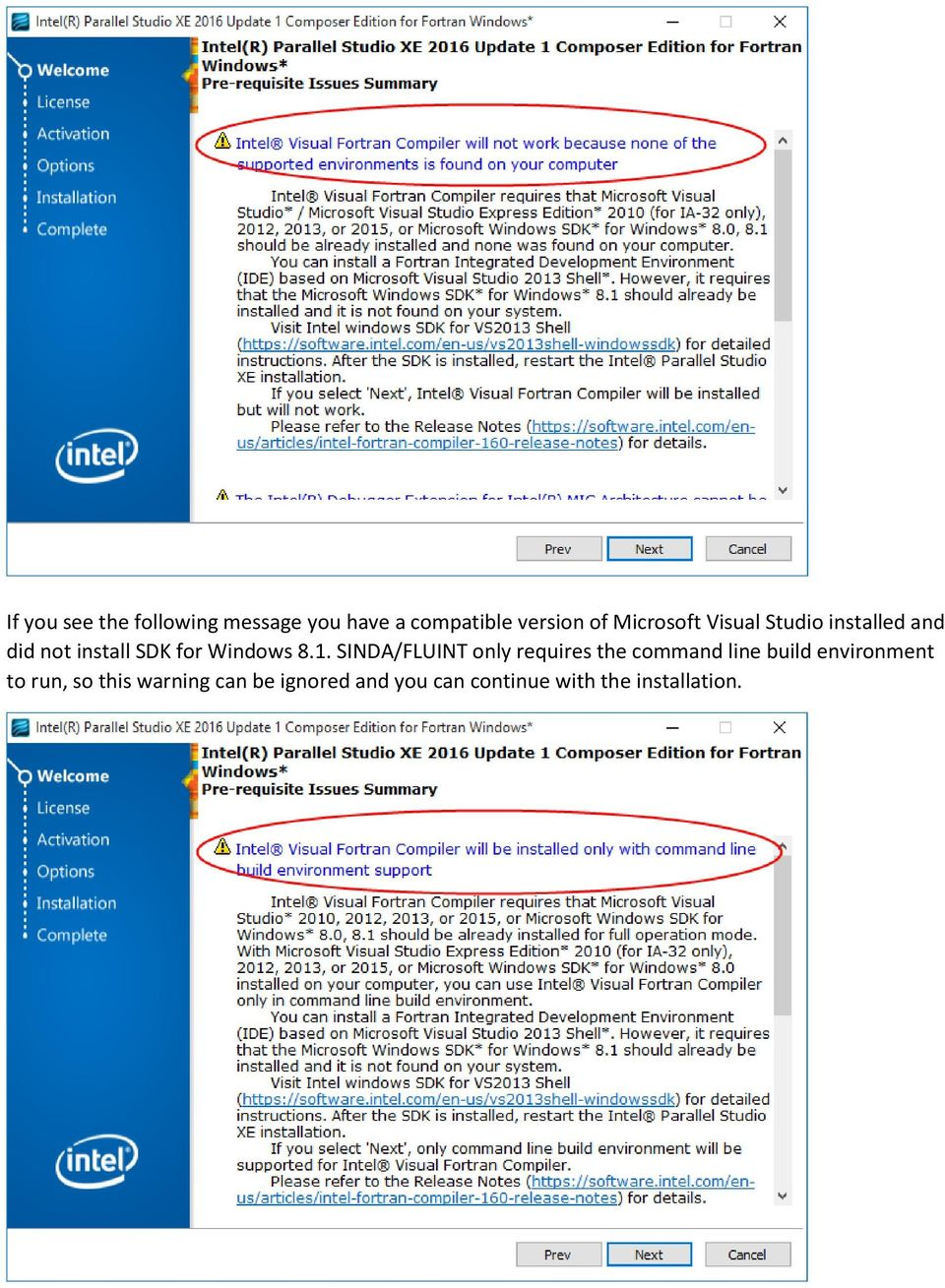 Installing Intel Parallel Studio XE Composer Edition for