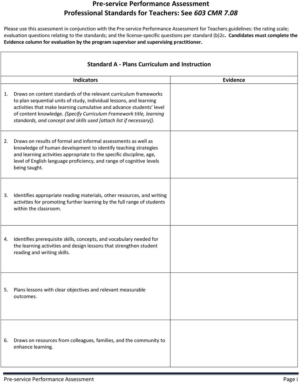 Draws on content standards of the relevant curriculum frameworks to plan sequential units of study, individual lessons, and learning activities that make learning cumulative and advance students